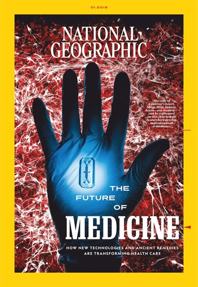 National Geographic Cover - 1/1/2019