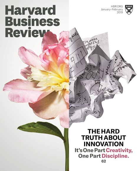 Harvard Business Review Cover - 1/1/2019