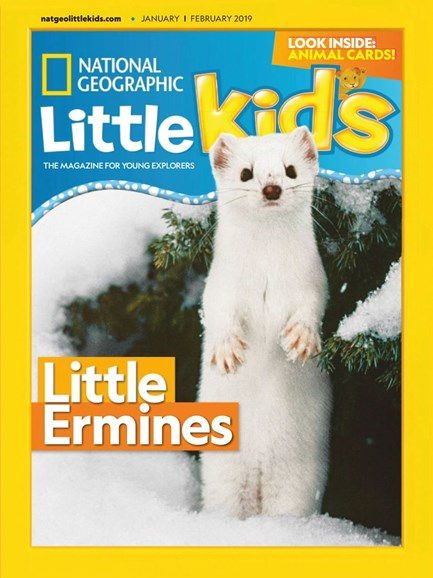 National Geographic Little Kids Cover - 1/1/2019