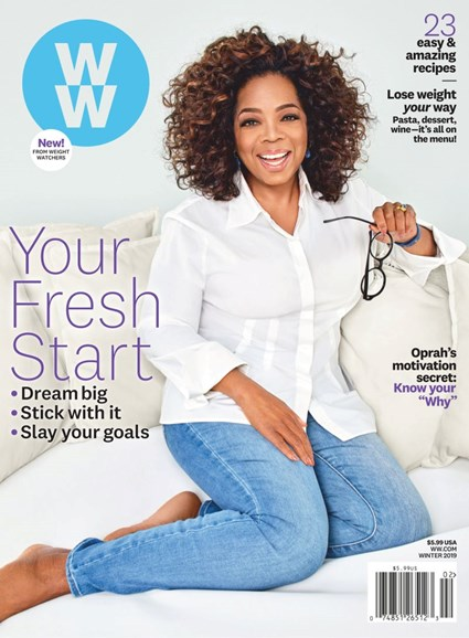 Weight Watchers Magazine Cover - 1/1/2019