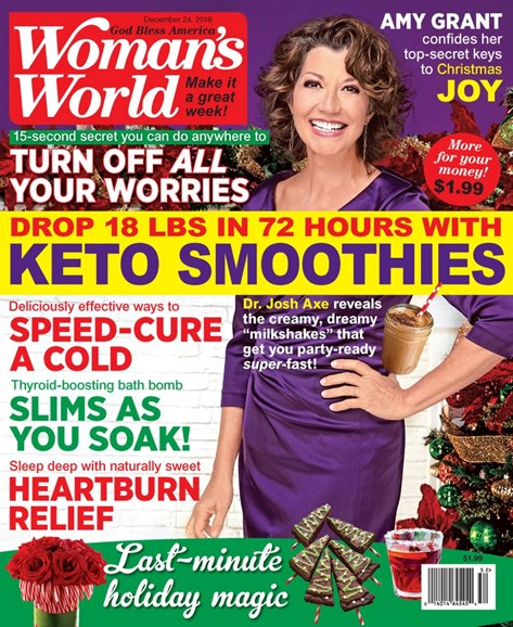 Woman's World Cover - 12/24/2018