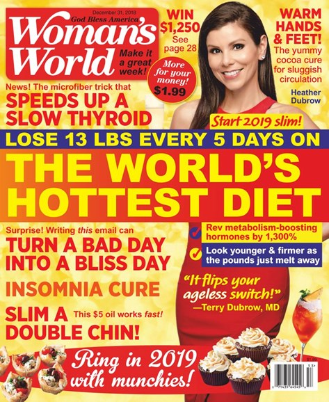 Woman's World Cover - 12/31/2018