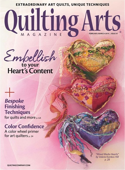 Quilting Arts Cover - 2/1/2019