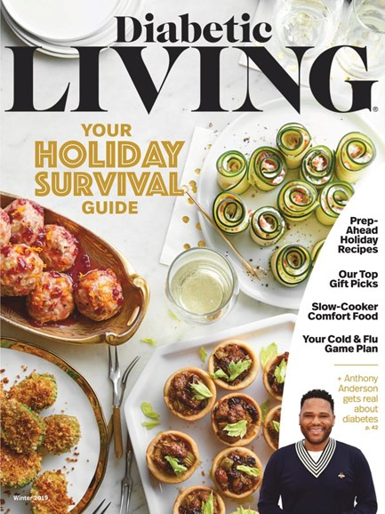 Diabetic Living Cover - 1/1/2019