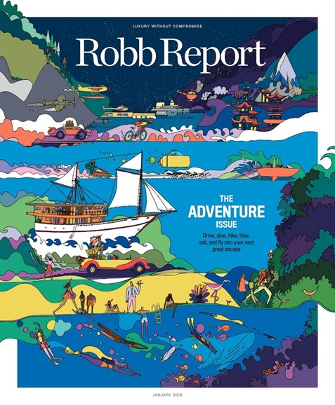 Robb Report Cover - 1/1/2019