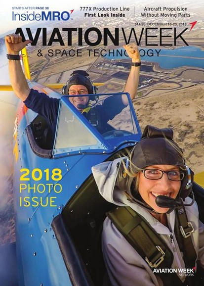 Aviation Week & Space Technology Cover - 12/10/2018