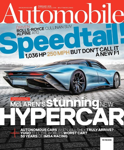 Automobile Cover - 2/1/2019
