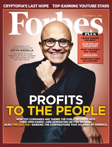 Forbes Cover - 12/31/2018
