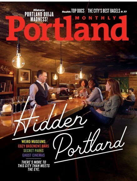 Portland Monthly Cover - 1/1/2019