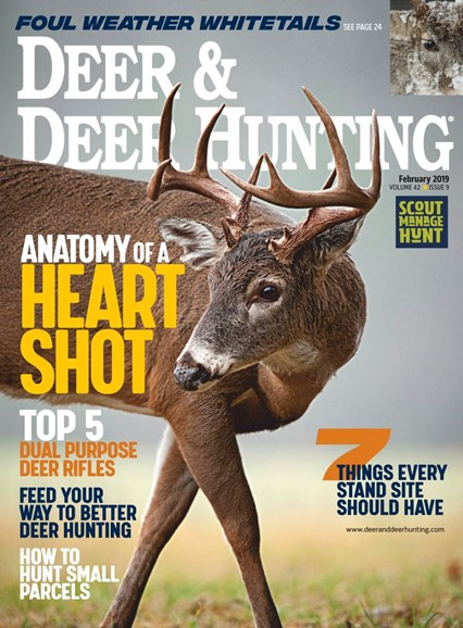 Deer & Deer Hunting Cover - 2/1/2019