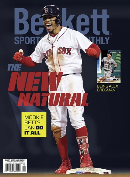 Beckett Sports Card Monthly Cover - 12/1/2018