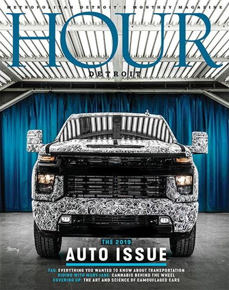 Hour Detroit Cover - 1/1/2019
