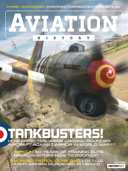 Aviation History Cover - 3/1/2019