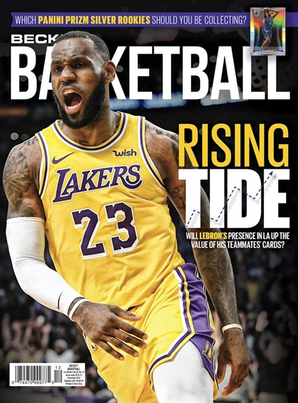 Beckett Basketball Cover - 12/1/2018