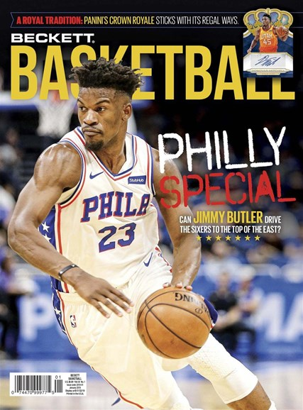 Beckett Basketball Cover - 1/1/2019