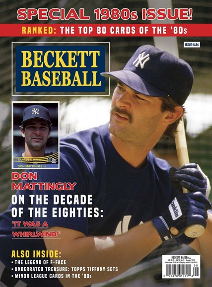 Beckett Baseball Cover - 1/1/2019
