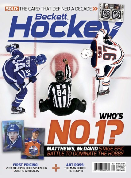 Beckett Hockey Cover - 12/1/2018