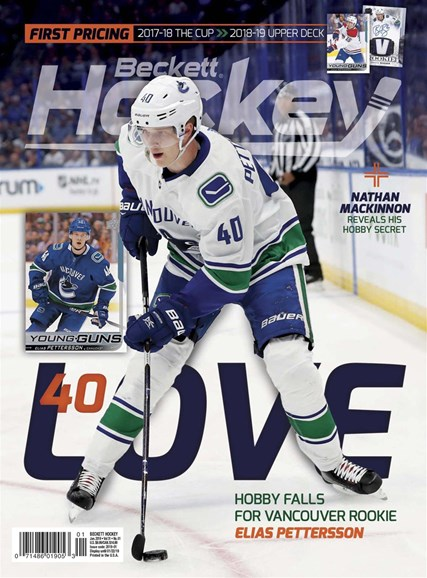 Beckett Hockey Cover - 1/1/2019
