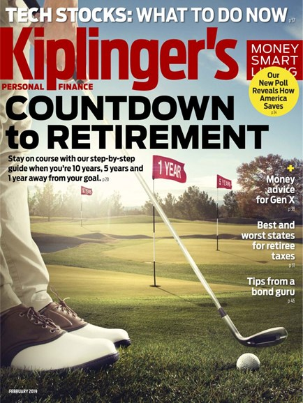 Kiplinger's Personal Finance Cover - 2/1/2019