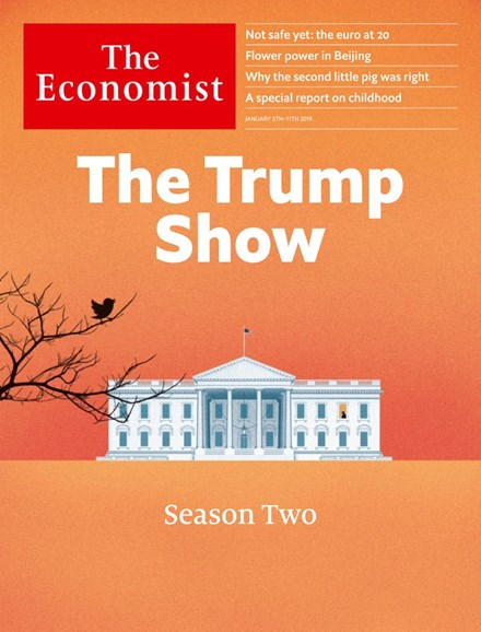 The Economist Cover - 1/5/2019