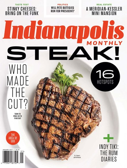 Indianapolis Monthly Cover - 1/1/2019