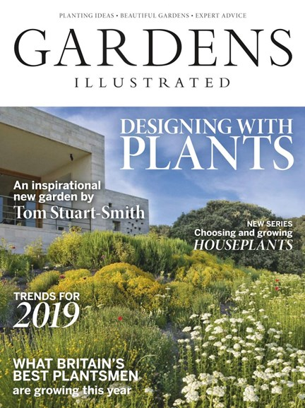 Gardens Illustrated Cover - 1/1/2019