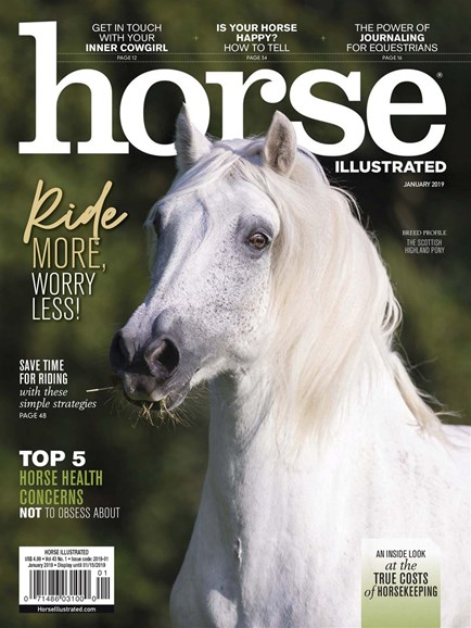 Horse Illustrated Cover - 1/1/2019