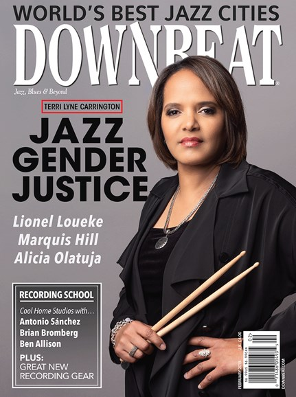 DownBeat Cover - 2/1/2019