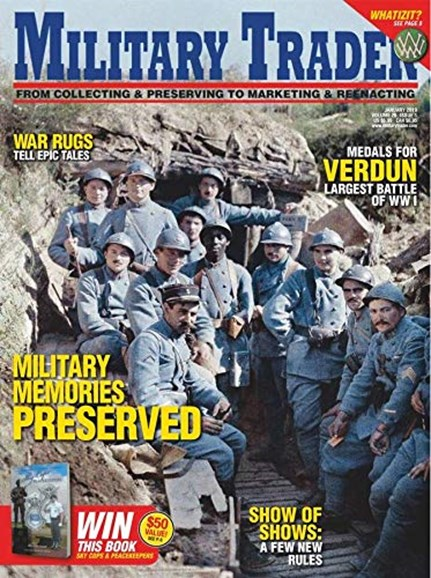 Military Trader Cover - 1/1/2019