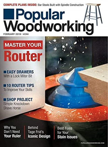 Popular Woodworking Cover - 2/1/2019