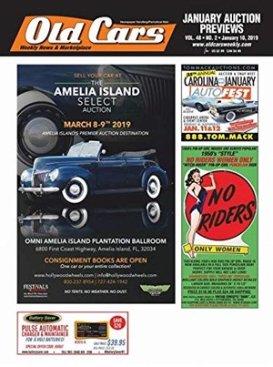 Old Cars Weekly Magazine | 1/10/2019 Cover