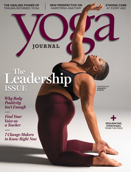 Yoga Journal Cover - 1/1/2019