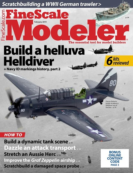 Finescale Modeler Cover - 2/1/2019