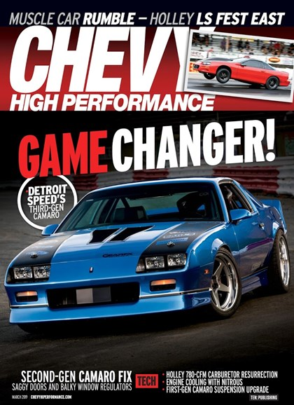 Chevy High Performance Cover - 3/1/2019