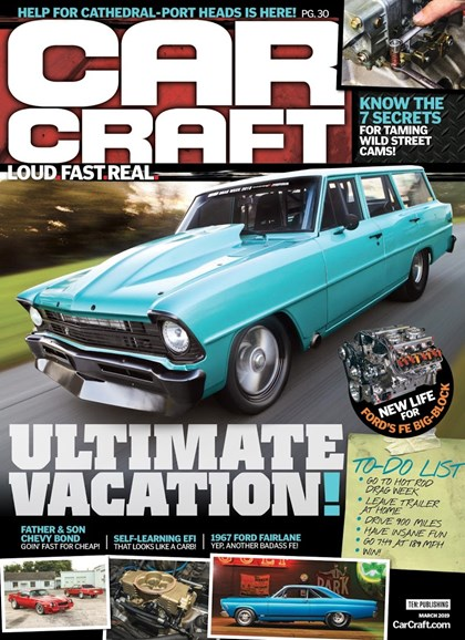 Car Craft Cover - 3/1/2019