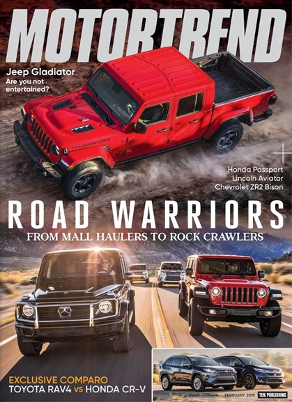 Motor Trend Cover - 2/1/2019