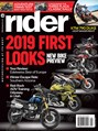 Rider Magazine | 2/2019 Cover