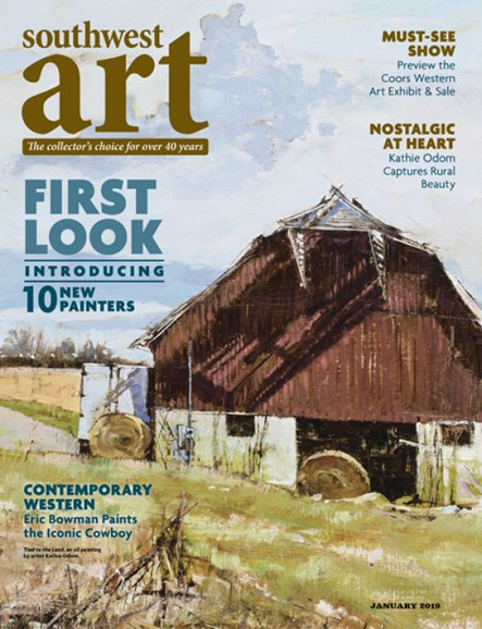 Southwest Art Cover - 1/1/2019
