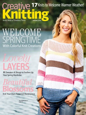 Creative Knitting Magazine | 3/1/2019 Cover