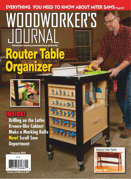 Woodworker's Journal Cover - 2/1/2019