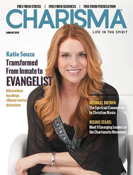 Charisma Cover - 1/1/2019