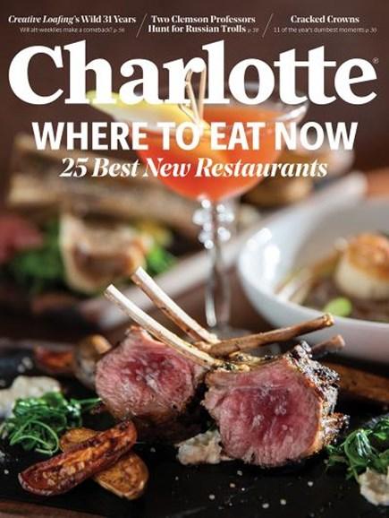 Charlotte Magazine Cover - 1/1/2019