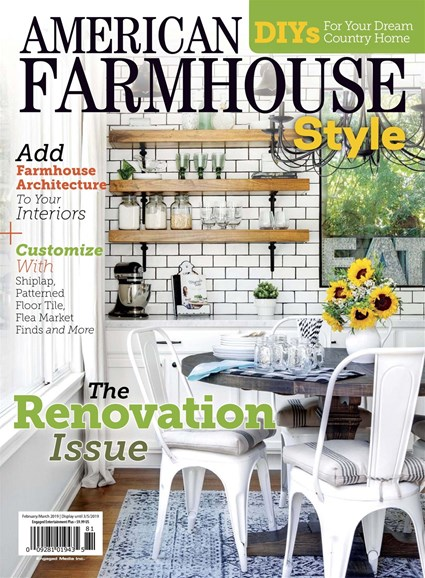 American Farmhouse Style Cover - 2/1/2019