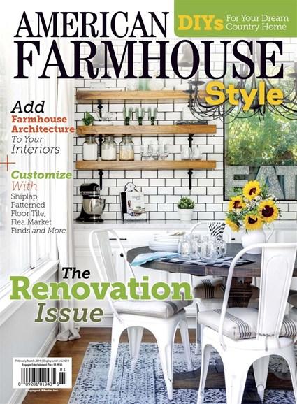 American Farmhouse Style Cover - 2/1/2019
