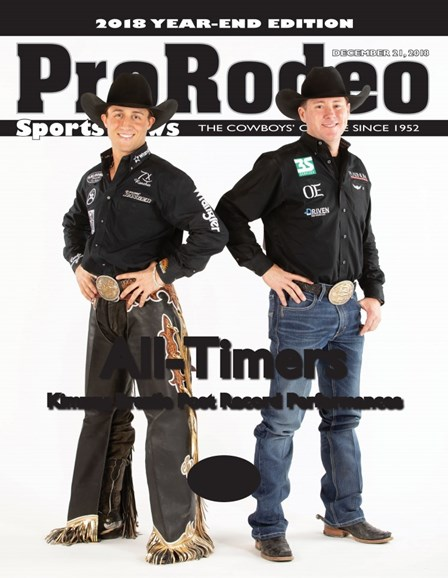 Pro Rodeo Sports News Cover - 12/21/2018