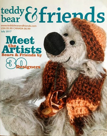 Teddy Bear Times & Friends Cover - 7/1/2017