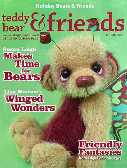 Teddy Bear Times & Friends Cover - 1/1/2019
