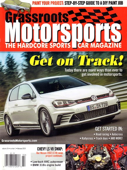 Grassroots Motorsports Cover - 2/1/2019
