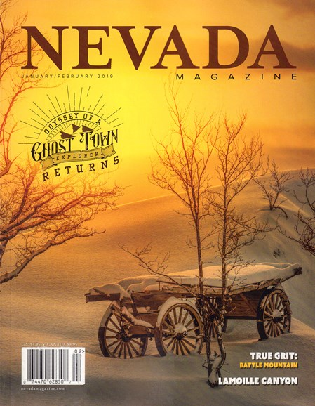 Nevada Magazine Cover - 1/1/2019