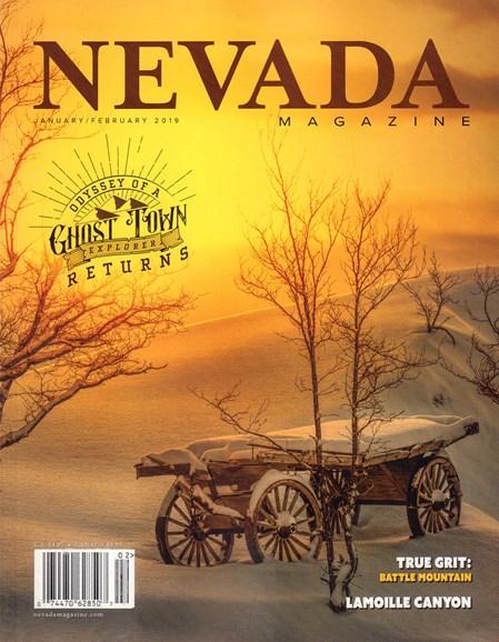 Nevada Magazine Cover - 1/1/2019